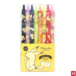 Pen Set Pikachu number 025 japan plush