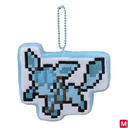 Keychain Glaceon DOT COLLECTION japan plush