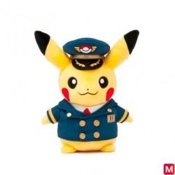 Peluche Pikachu Pilote de Ligne KIX japan plush