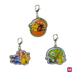 Metal Keychain Set B japan plush