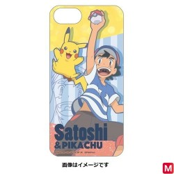 Hard Case Smartphone Satoshi Pikachu japan plush