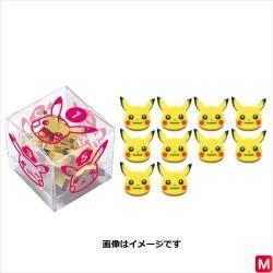 Mini Pikachu Face Eraser japan plush