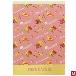 Memo A6 POKE DAYS 2 japan plush