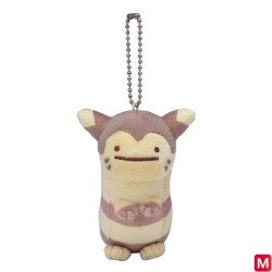 Keychain Plush Ditto Form Furret japan plush