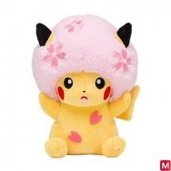 Plush Pikachu Afro Sakura japan plush