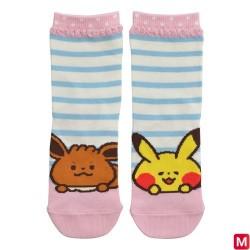 Chaussettes Courtes Pikachu Evoli  japan plush