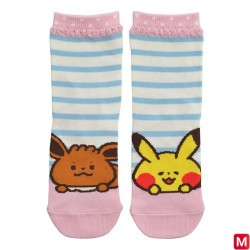 Short Socks Pikachu Eevee  japan plush