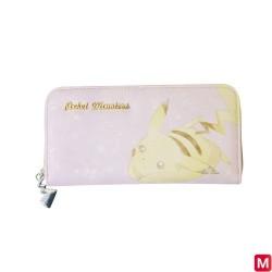 Long Wallet Pink Pikachu japan plush