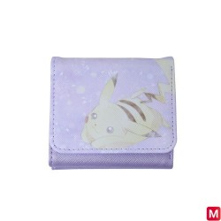 Small Wallet Purple Pikachu japan plush
