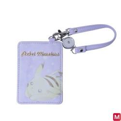 Pass Case Purple Pikachu japan plush
