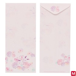 Enveloppe Évoli flowers japan plush