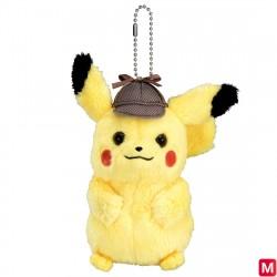 Keychain Plush Mascot Pikachu Detective japan plush