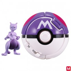 Moncolle Figure Poke Out Mewtwo Master Ball japan plush