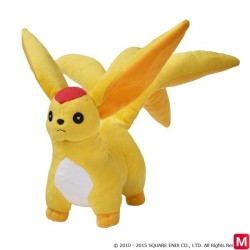 FINAL FANTASY XIV Plush HEAVENSWARD Topaz Carbuncle japan plush