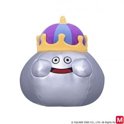 Dragon Quest IX Peluche Sentinels Of The Starry Skies Smile Slime Metal King M japan plush