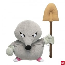 Dragon Quest Monster Plush Naughty Mogura japan plush
