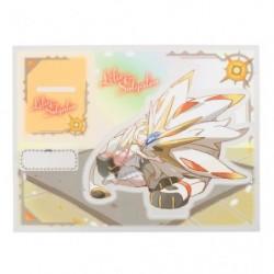 Stand Keychain Lili & Solgaleo japan plush