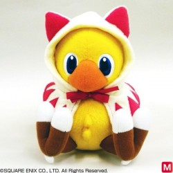 Peluche Chocobo Mysterious Dungeon Mage japan plush