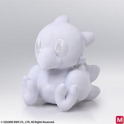 Final Fantasy Peluche Chocobo Blanc japan plush