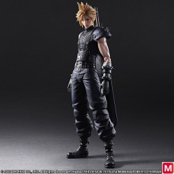 Play Arts Kai Final Fantasy VII Remake No. 1 Cloud Strife Action Figure japan plush