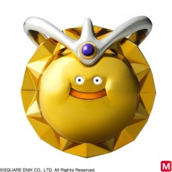 Dragon Quest IX Sentinels Of The Starry Skies Golden King Slime Figure japan plush