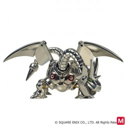 Dragon Quest Metallic Monsters Gallery Metal Dragon Figure japan plush