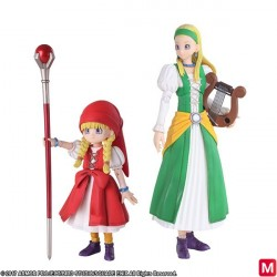 Dragon Quest XI Echoes of an Elusive Age Bring Arts Veronica and Serena Figures japan plush