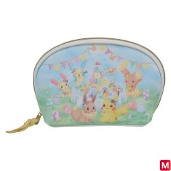 Pouch Easter Garden Party japan plush