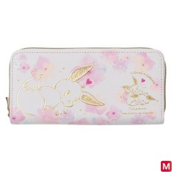 Long wallet Eevee flowers japan plush
