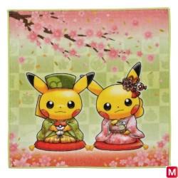 Serviette à mains Sakura et Cérémonie du thé japan plush