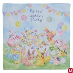 Tissu Easter Garden Party japan plush