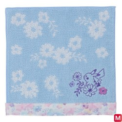 Hand towel Pikachu flowers japan plush