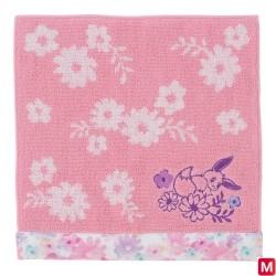 Serviette à mains Évoli flowers japan plush