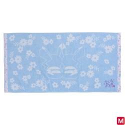 Mini bath towel Pikachu flowers japan plush