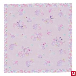 Handkerchief Évoli flowers japan plush