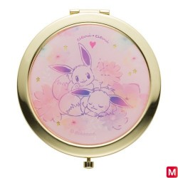 Compact mirror Eevee flowers japan plush