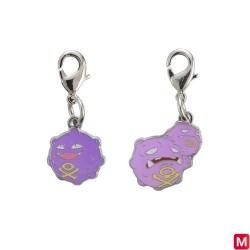 Metal keychain Koffing Weezing 109・110 japan plush