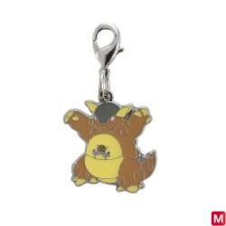 Metal keychain Kangaskhan 115 japan plush