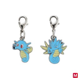 Metal keychain Horsea Seadra 116・117 japan plush