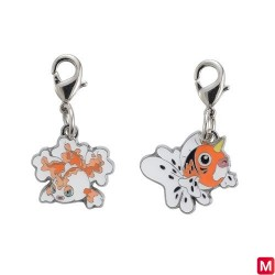 Metal keychain Goldeen Seaking 118・119