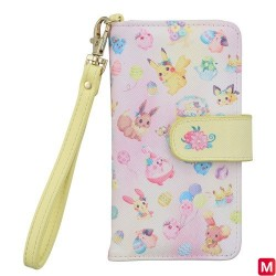 Multi Smartphone Cover Easter Garden Party japan plush