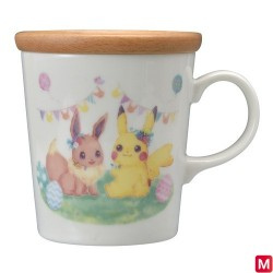 Mug Café Pâques Garden Party japan plush
