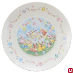 Plate Easter Garden Party japan plush