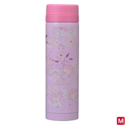 Stainless bottle Eevee flowers japan plush