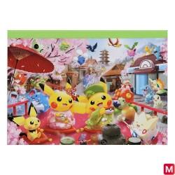 Memo Pokémon Sakura et Cérémonie du thé japan plush
