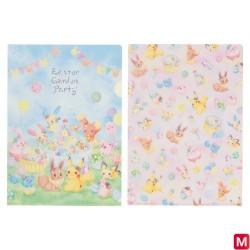 A4 Pochette Transparente Paque Garden Party japan plush