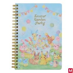 B6 Cahier Paque Garden Party japan plush