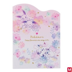 Memo Set flowers japan plush