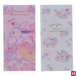 Protège ticket Set x2 Évoli flowers japan plush