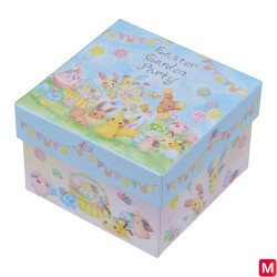 Box Easter Garden Party japan plush